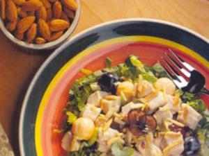 Receita de Salada Mosaico de Frango