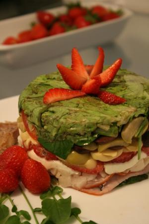 Receita de Salada Prensada