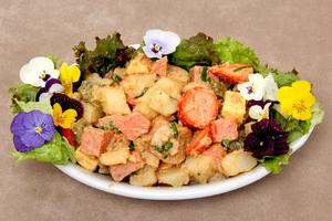 Receita de Salada Primaveril Kneipe Schornstein