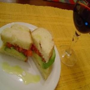 Receita de Sanduíche de Abacate