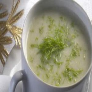 Receita de Sopa Fria de Erva-Doce