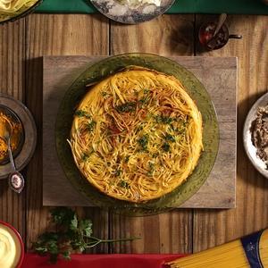 Receita de Spaghetti com Açafrão e Ragu de Cordeiro