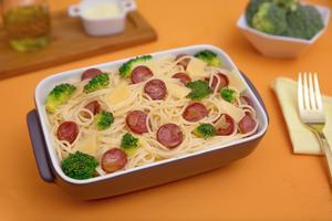 Receita de Spaghetti com Brócolis e Calabresa