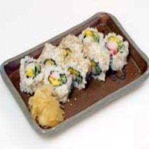 Receita de Sushi Uramaki Califórnia