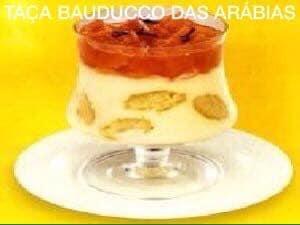 Receita de Taça Bauducco das Arábias