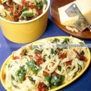 Receita de Talharim com Tomates Secos