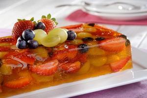 Receita de Terrine de Gelatina e Frutas