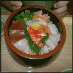Receita de Tirashi-sushi