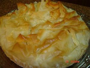 Receita de Torta de Bacalhau com Massa Folhada