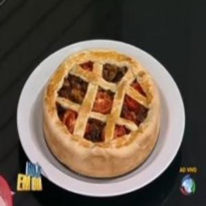 Receita de Torta de carne louca do Edu Guedes