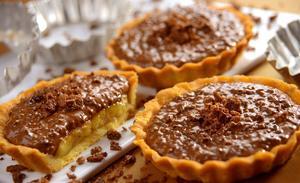Receita de Torta de Creme Crocante Ovomaltine e Banana