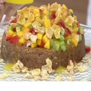 Receita de Torta de flocos com milho do Mais Você