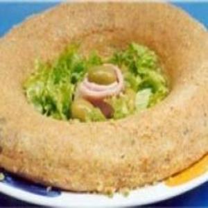 Receita de Torta de Presunto no Microondas