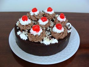 Receita de Torta Holandesa de Chocolate e Frutas