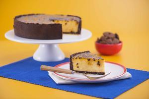 Receita de Torta Mousse de Maracujá