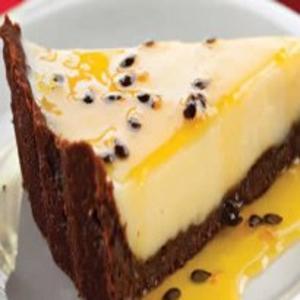 Receita de Torta Trufada de Maracujá