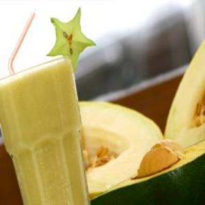 Receita de Vitamina de Abacate e Melão